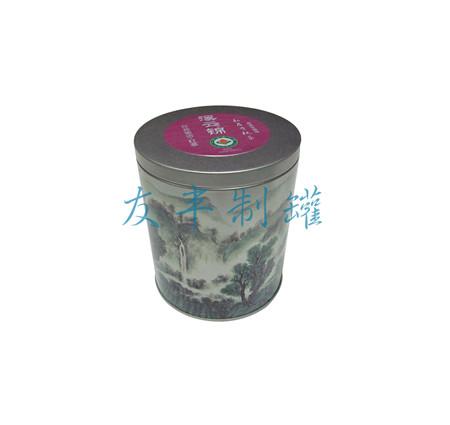 溪云锦茶叶罐