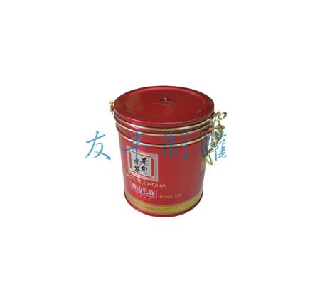 铁线茶叶罐